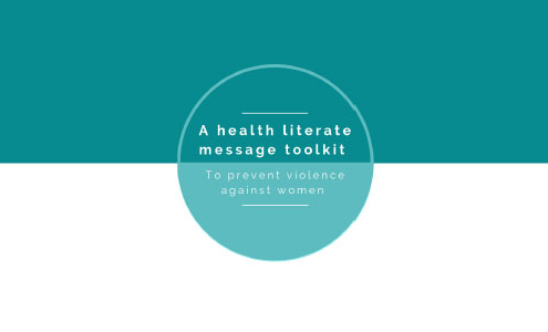 A Health Literate Message Toolkit to prevent violence against women