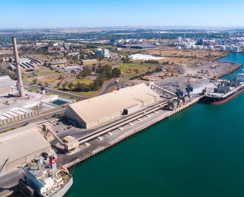 PORT OF GEELONG GROWTH