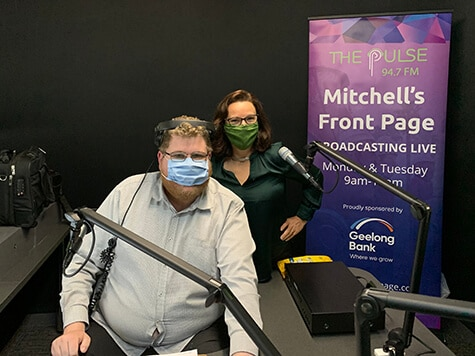 Radio Interview – Mitchell's Front Page, The Pulse (Feb 2021)