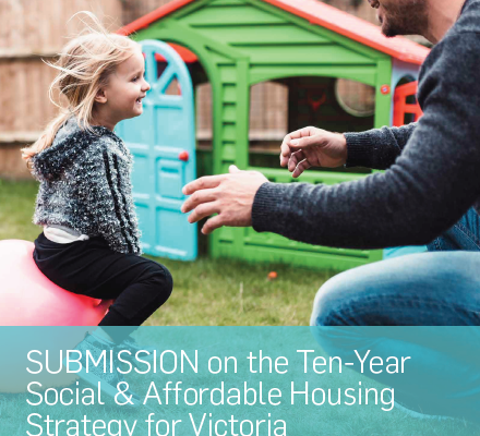 G21 submission to the 10-yr Social & Affordable Housing Strategy for Victoria